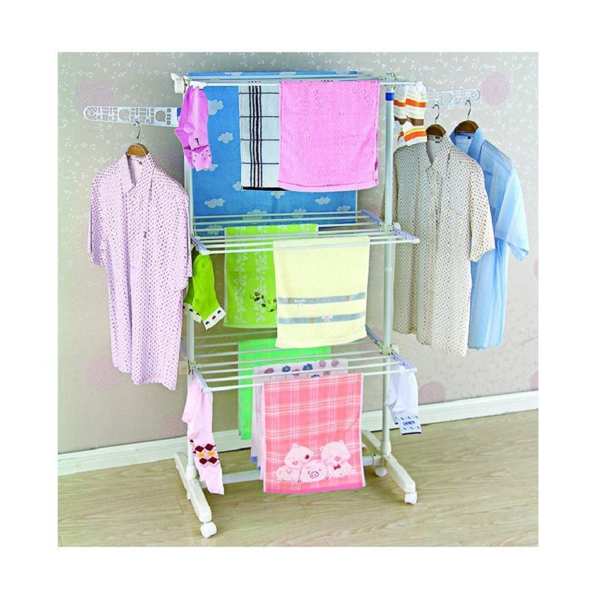 836_liveo_jemuran_baju_lv708_triple_decker_clothes_hanger_1.jpg