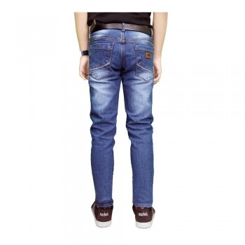 3140_gudang_fashion__celana_jeans_panjang_pria__biru_2.jpg. Gudang Fashion - Celana Jeans Panjang Pria - Biru